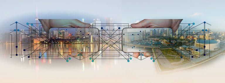 technische-grafik-symbolisiert-unsere-vernetzen-applikationen
